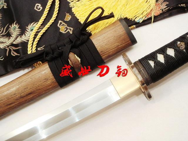 Battle Ready Japanese Wakizashi Katana Sword Full Tang 9260 Spring Steel Blade