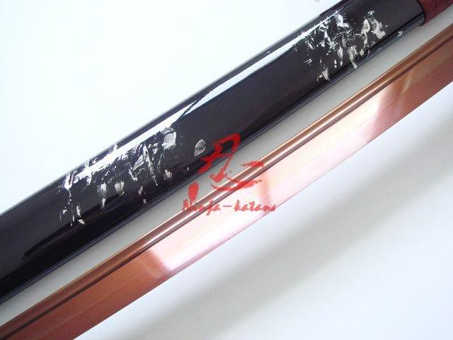 Hand Forged Spring Steel Blade Japanese Katana Sharpened