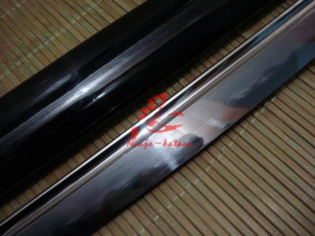 Clay Tempered Sanmai Jp Musashi Katana Wave Hamon Sharpened Can Custom