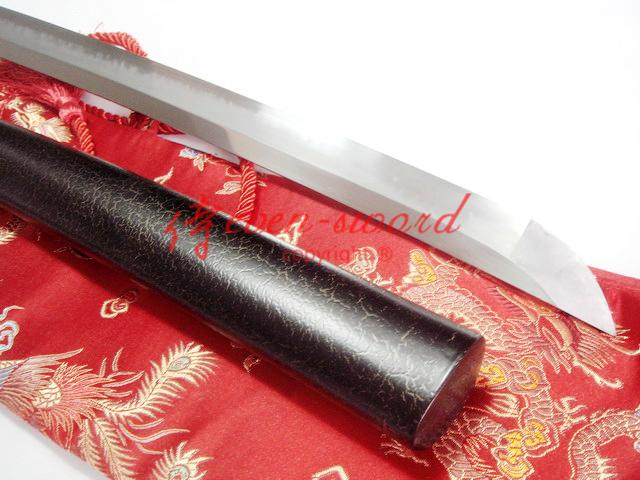 Clay Tempered Japanese Dragon Katana Hazuya Polished Sharpened Blade Sword