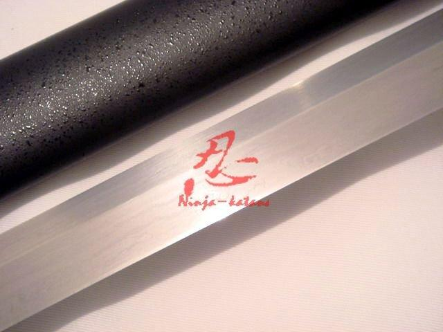 Hand Forged Folded Steel Musashi Ninja Sword Sharpened