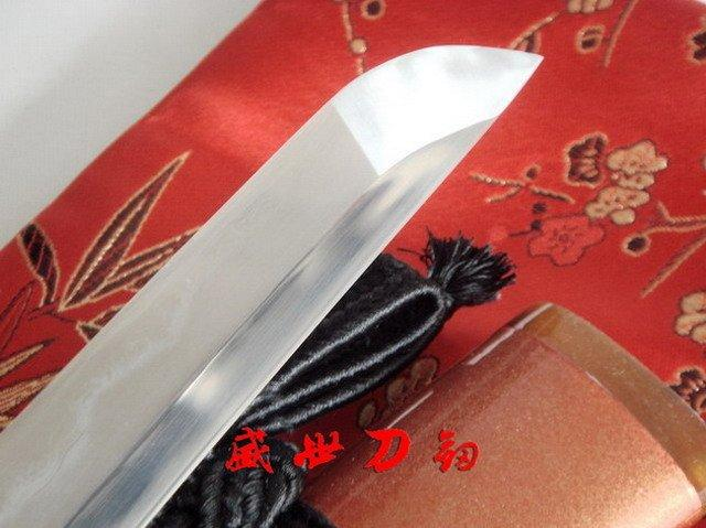 Battle Ready Samurai Katana Dragon Tsuba Clay Tempered Sanmai Blade Sharpened