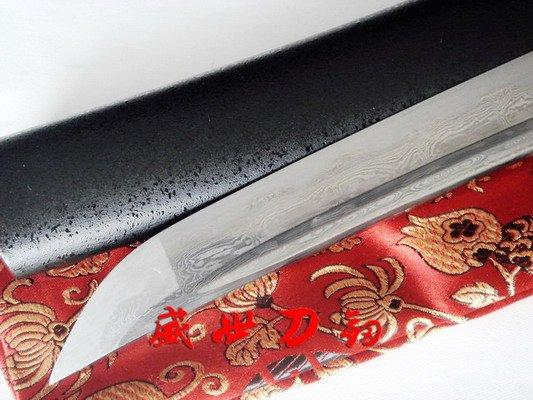 52cm Handforged Forged Folded Steel Japanese Tanto Sword Very Sharp Blade