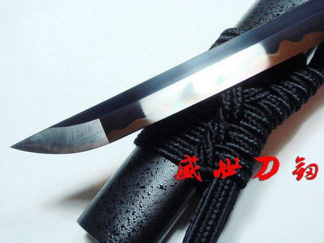 130cm Clay Tempered Bleach Inchigo Tensa Nodachi Sword Adsorb Tungsten Battle Ready Katana