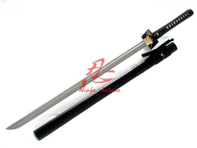 Dragaon Tiger Square Tauba Ninja Sword Sharpend Blade Folded Steel